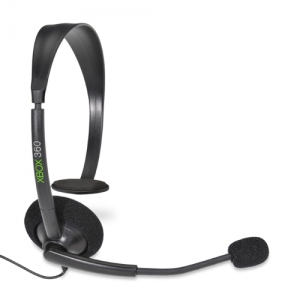 Microsoft Xbox 360 Headset - In-Line Volume Control - P5F-00001 (Refurbished)