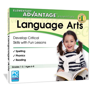 Elementary Advantage Essentials: Language Arts (Grades 1-3)