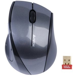 A4TECH 2.4G No Lag Ergonomic Wireless Padless Mouse G7-750N