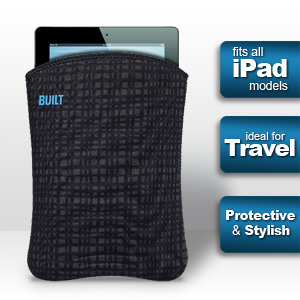 Built NY Slim iPad or Tablet Sleeve - Graphite (Fits all iPads)
