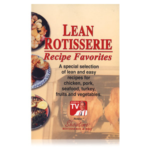 Ronco Lean Rotisserie Booklet