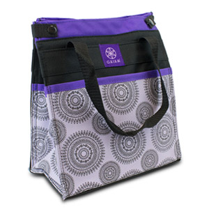 Gaiam Lunch Tote - Purple Marrakesh