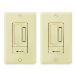 Heath Zenith Indoor 3-Way Wall Switch (2 Pack), Ivory