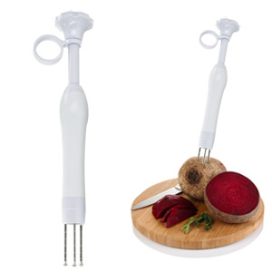 Prep N' Pop Vegetable Helper (White)