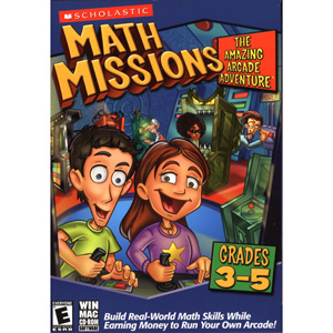 Math Missions: The Amazing Arcade Adventure with Math Card Game (Grades 3-5)