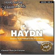 Heard Before Classical Hits: HAYDN Vol. 2 (Audio)