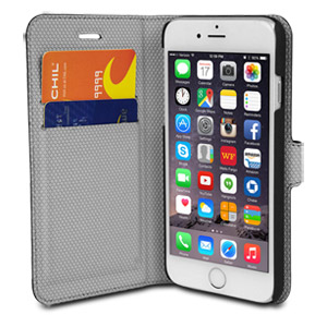 Chil Attraction Jacket Magnetic Wallet & Case for iPhone 6 (Black)