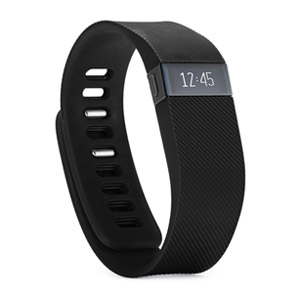 Fitbit Charge Wireless Activity Wristband, Black, Small - Refurbished