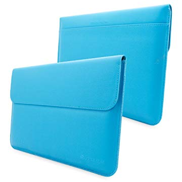 Snugg Leather Sleeve Case for Microsoft Surface Pro 3 Cyan