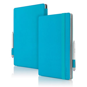 Incipio Roosevelt Slim Folio Case for Surface Pro 3 w/ Type Cover, Cyan (Bulk)