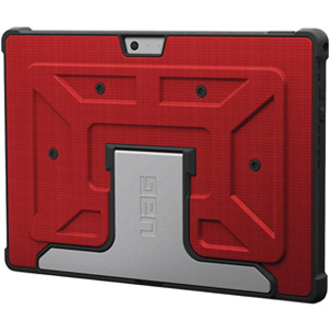 Urban Armor Gear Case For Microsoft Surface 3, Red (Open Box)
