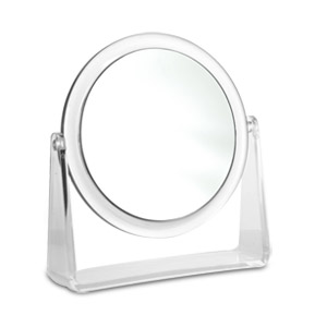 Karina 10X Round Dual-Sided 6.25 Vanity Mirror (10X & Normal)