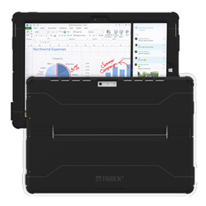 Trident Cyclops Case for Microsoft Surface 3, Black (Open Box)