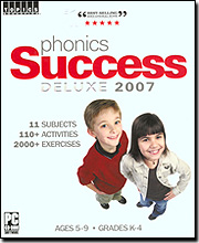 Phonics Success Deluxe 2007 for Windows PC