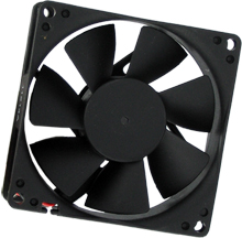 Case Fan 3x3 to Power Supply with Pass-Thru Connector