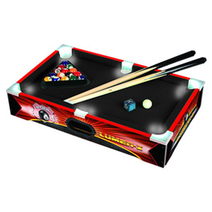 Triumph Sports LUMEN X 20 Table Top Billiards