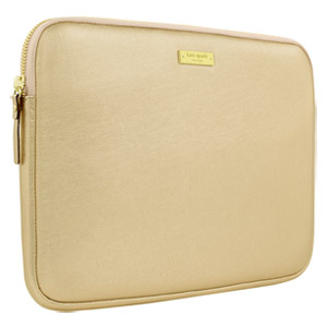 Kate Spade Saffiano Sleeve for Microsoft Surface Pro Metallic Gold Open Box