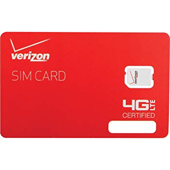 Verizon Wireless 4G LTE Nano SIM Card 4FF for iPad Air 2 & iPad Mini 3