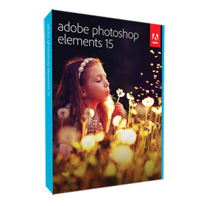 Adobe Photoshop Elements 15 for Windows/Mac