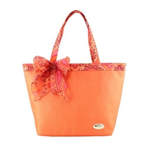 Jacki Design Summer Bliss Beach Tote Bag, Orange