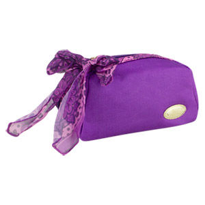 Jackie Design Summer Bliss Cosmetic Pouch, Purple