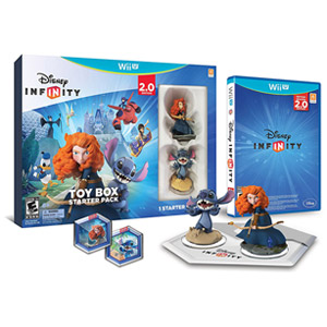 Disney INFINITY 2.0 Toy Box Starter Pack Wii U