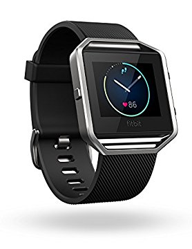 Fitbit Blaze Smart Fitness Watch - Black - Small (Refurbished)