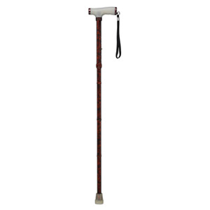 Drive Medical Adjustable Lightweight Folding Cane with Glow Grip Handle
