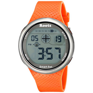 Roots Cove Digital Display Quartz Watch - Orange