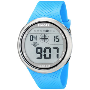 Roots Cove Digital Display Quartz Watch - Blue