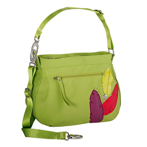 Haiku Women's Bucket Eco Crossbody Bag, Apple Green