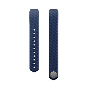 Fitbit Alta Classic Accessory Band, Blue (Large)