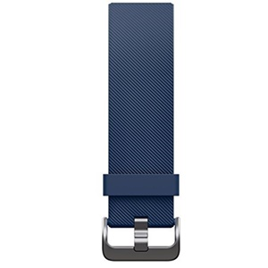 Fitbit Blaze Classic Accessory Band, Blue (Large)