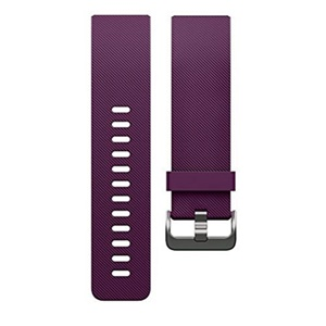 Fitbit Blaze Classic Accessory Band, Purple (Large)