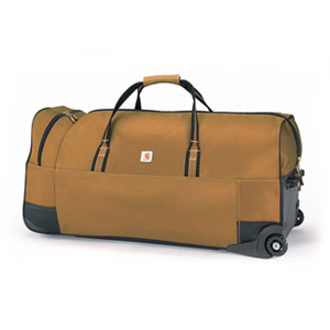 Carhartt Legacy Heavy-Duty Wheeled Gear Bag 36, Carhartt Brown