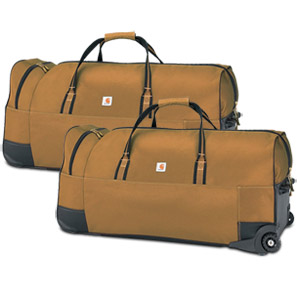 Carhartt Legacy Heavy-Duty Wheeled Gear Bag 36, Carhartt Brown 2 Pack