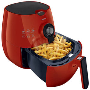 Philips Airfryer The Original Airfryer with Rapid Air Technology HD9220 - Red