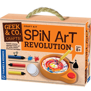 Geek & Co. Craft Spin Art Revolution