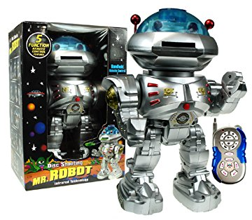 Mr Robot Remote Disc Shooting Rapid-Fire & Dancing Robot