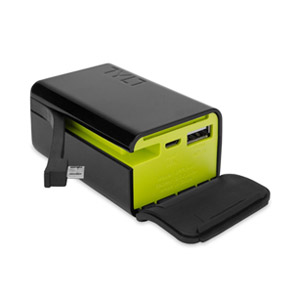 TYLT POWERPLANT 5200mAh Battery Backup with Micro-USB Charging Arm and USB Port
