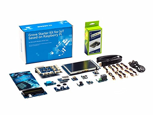 Seeedstudio MS IoT Grove Kit for Raspberry Pi with 5 Display (Azure Certified)
