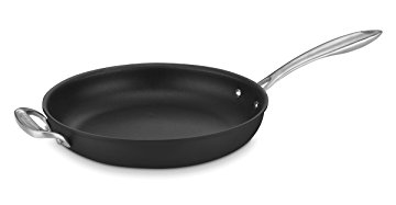 Cuisinart Dishwasher Safe Hard-Anodized Nonstick 12 Skillet with Helper Handle