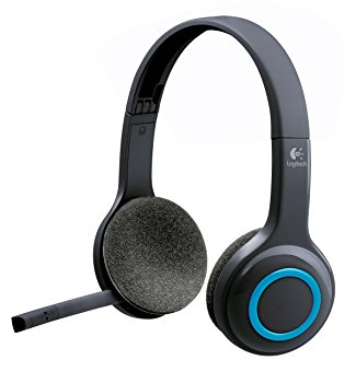 Logitech H600 Fold-N-Go WIreless Headset with Mic, Black (Refurbished)