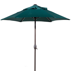 Abba Patio 7.5ft Outdoor Market Patio Umbrella with Push Button Tilt Crank Lift