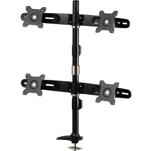 Amer Mounts AMR4P: Quad Monitor Mount -  up to 4/Four 24 Screens