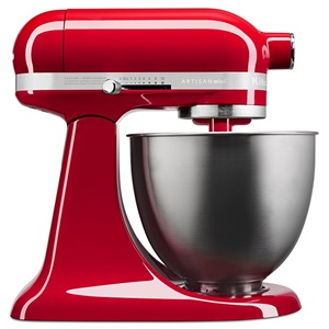 KitchenAid Artisan Mini Series Tilt-Head Stand Mixer, 3.5 quart, Empire Red