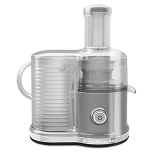 KitchenAid Easy Clean Juicer (fast juicer), Contour Silver  KVJ0333CU