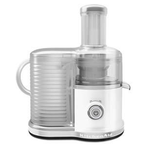 KitchenAid Easy Clean Juicer (fast juicer),  White KVJ0333WH