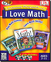 I Love Math Learning Power Pack