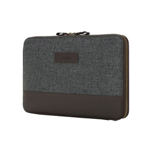 Incipio Esquire Series Sleeve for Surface Pro, Gray/Burgundy